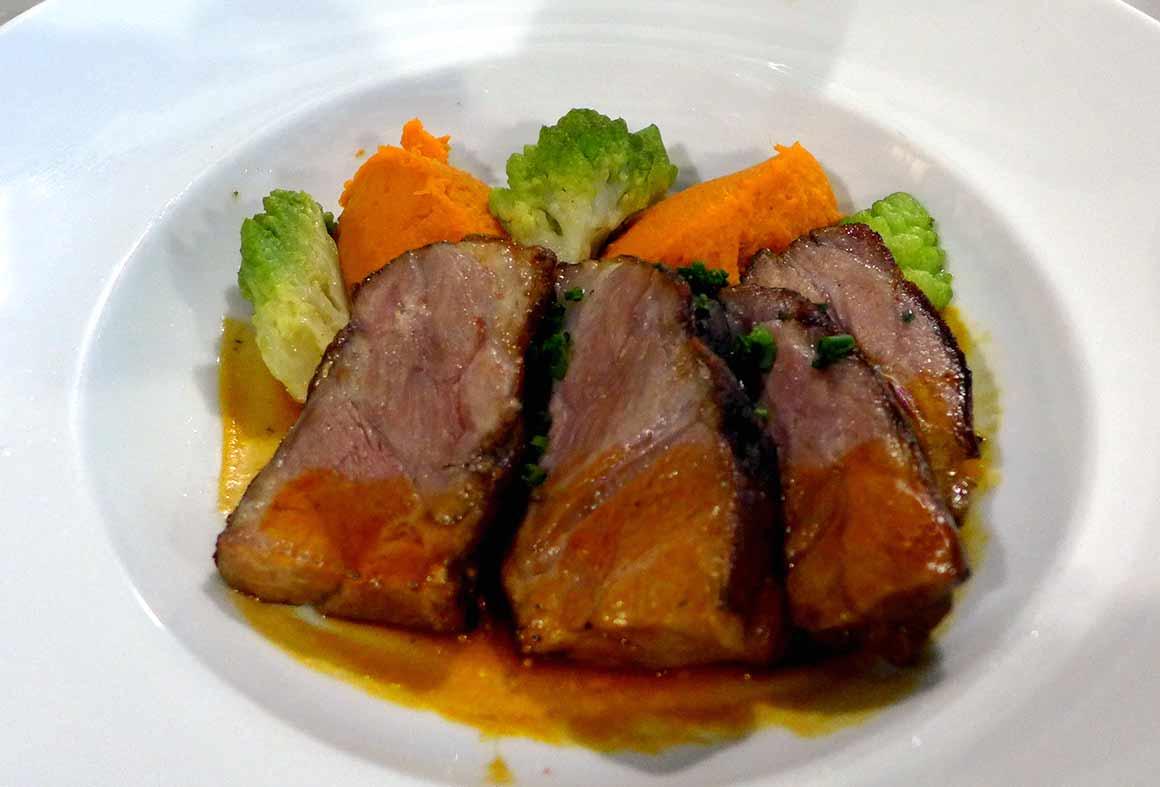 Restaurant  L'Ambassade d'Auvergne, l'agneau
