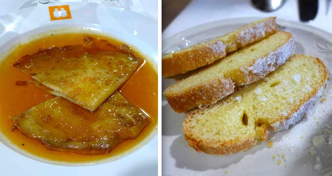 restaurant  L'Ambassade d'Auvergne, les crêpes flambées