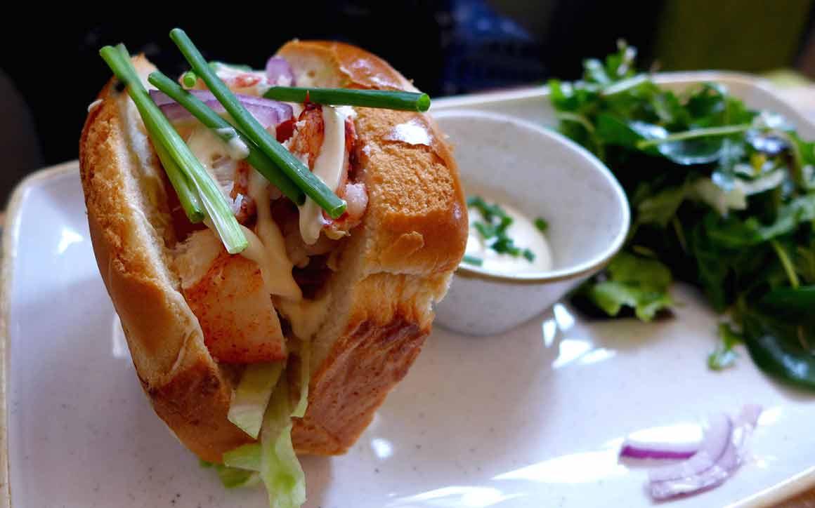 Restaurant Crabe Royal : Roll au homard