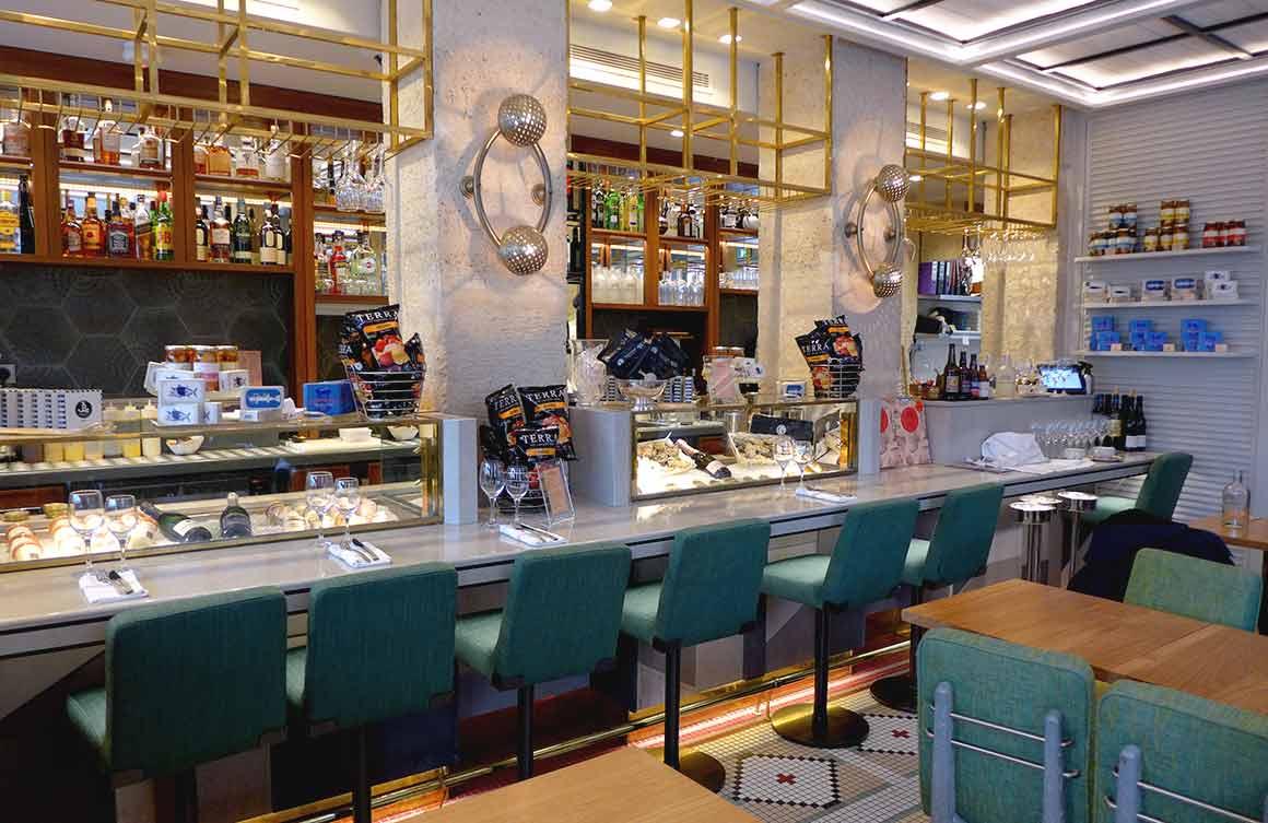 Restaurant Crabe Royal : La salle