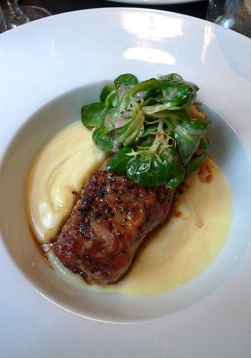 Restaurant Les Bistronomes, Parmentier de pied de cochon