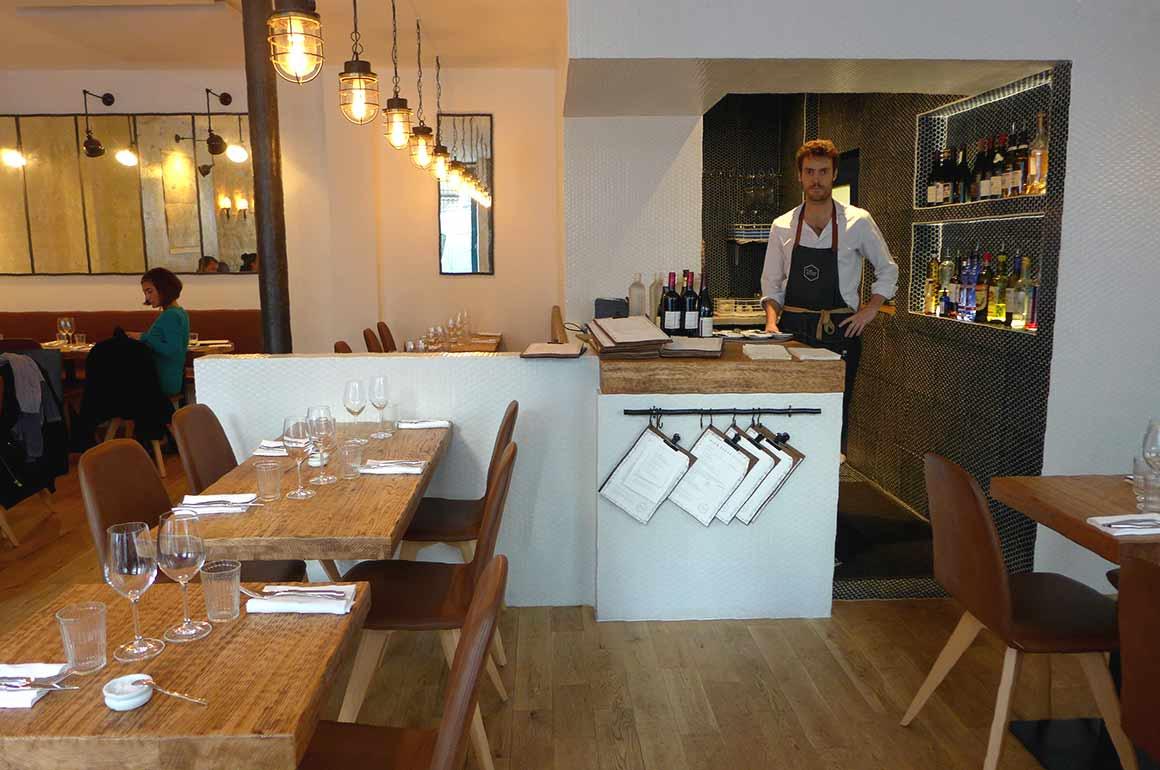 Restaurant Bien Elevé, La salle