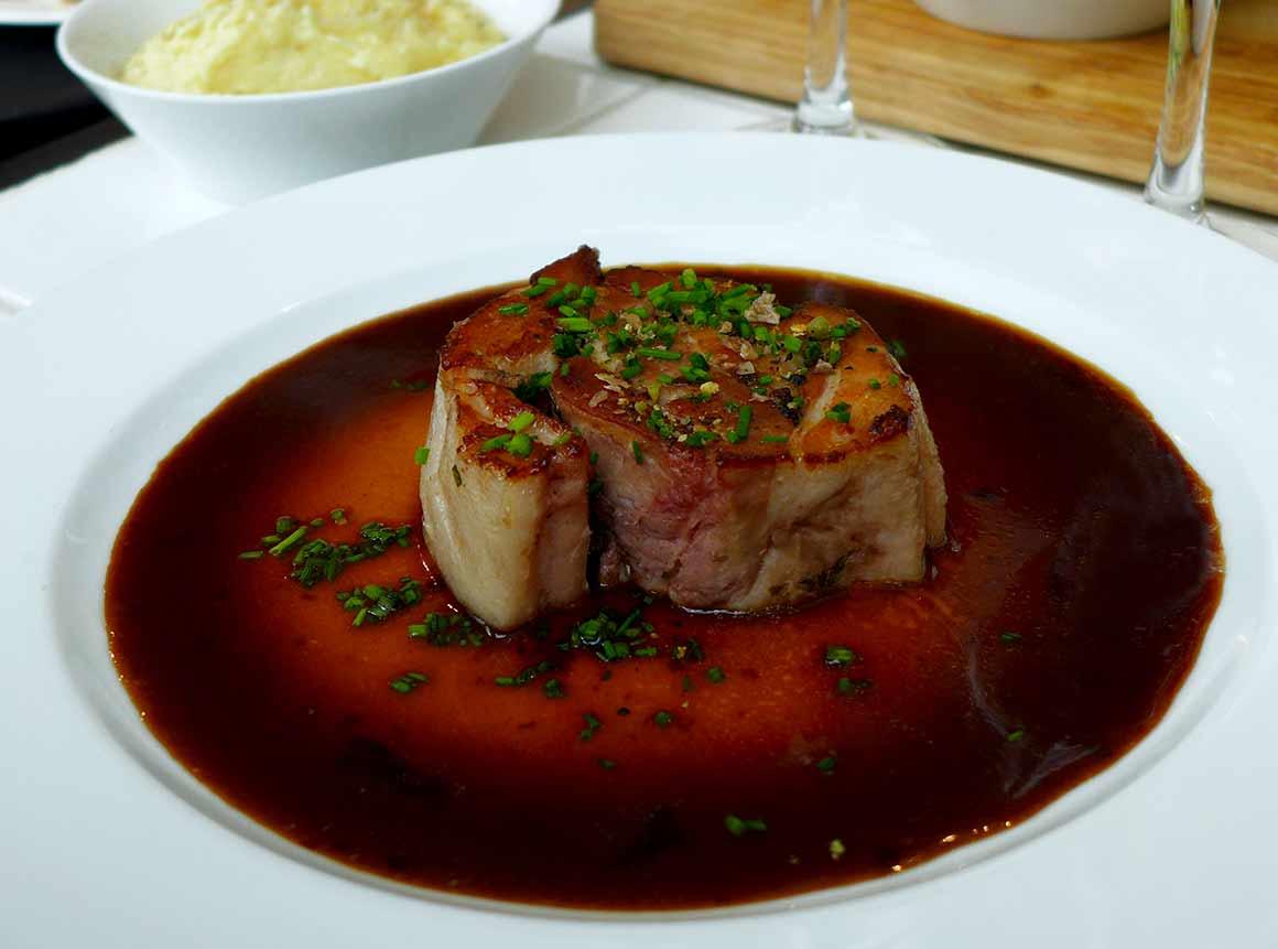 Restaurant La Cochon Gaulois, Porcetta confite au citron