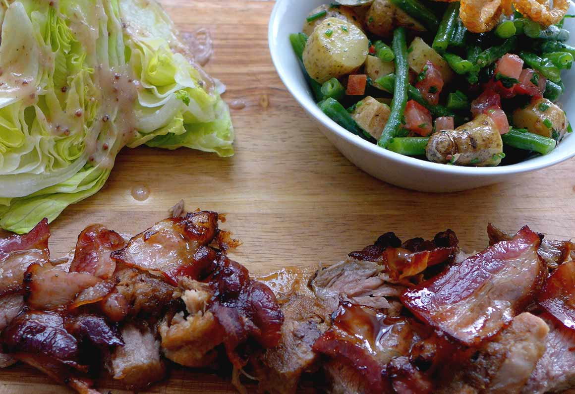 Restaurant La Cochon Gaulois, Salade du Cochon Gaulois