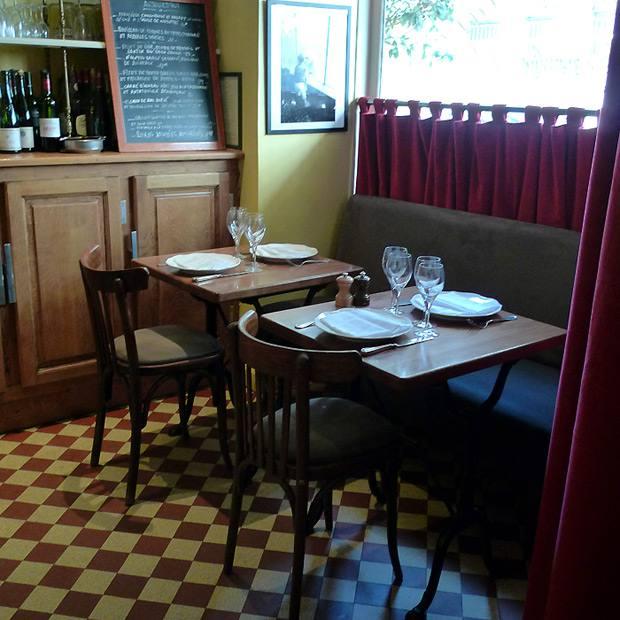 Restaurant Les Botanistes, Le style bistrot