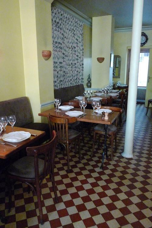 Restaurant Les Botanistes, la salle