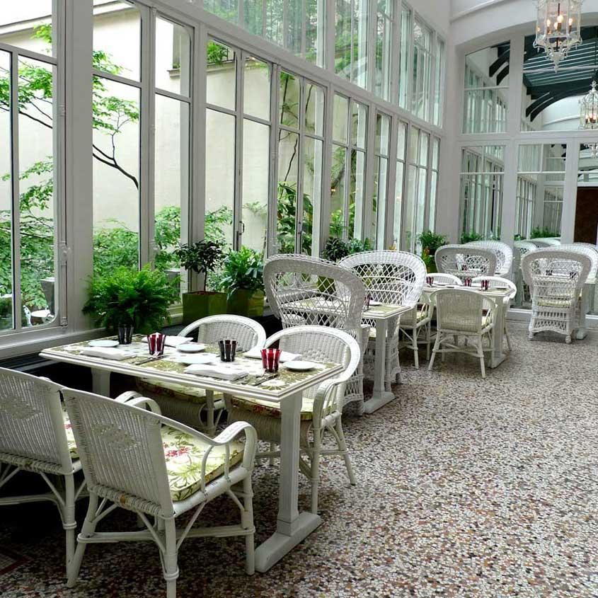 Restaurant Les Climats, la salle