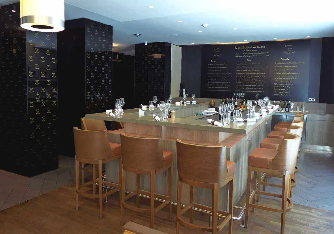 Restaurant Les Cocottes Etoile : La salle