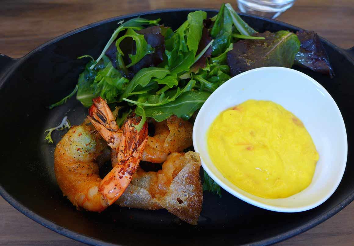 Restaurant Les Cocottes Etoile : Croustillants de gambas