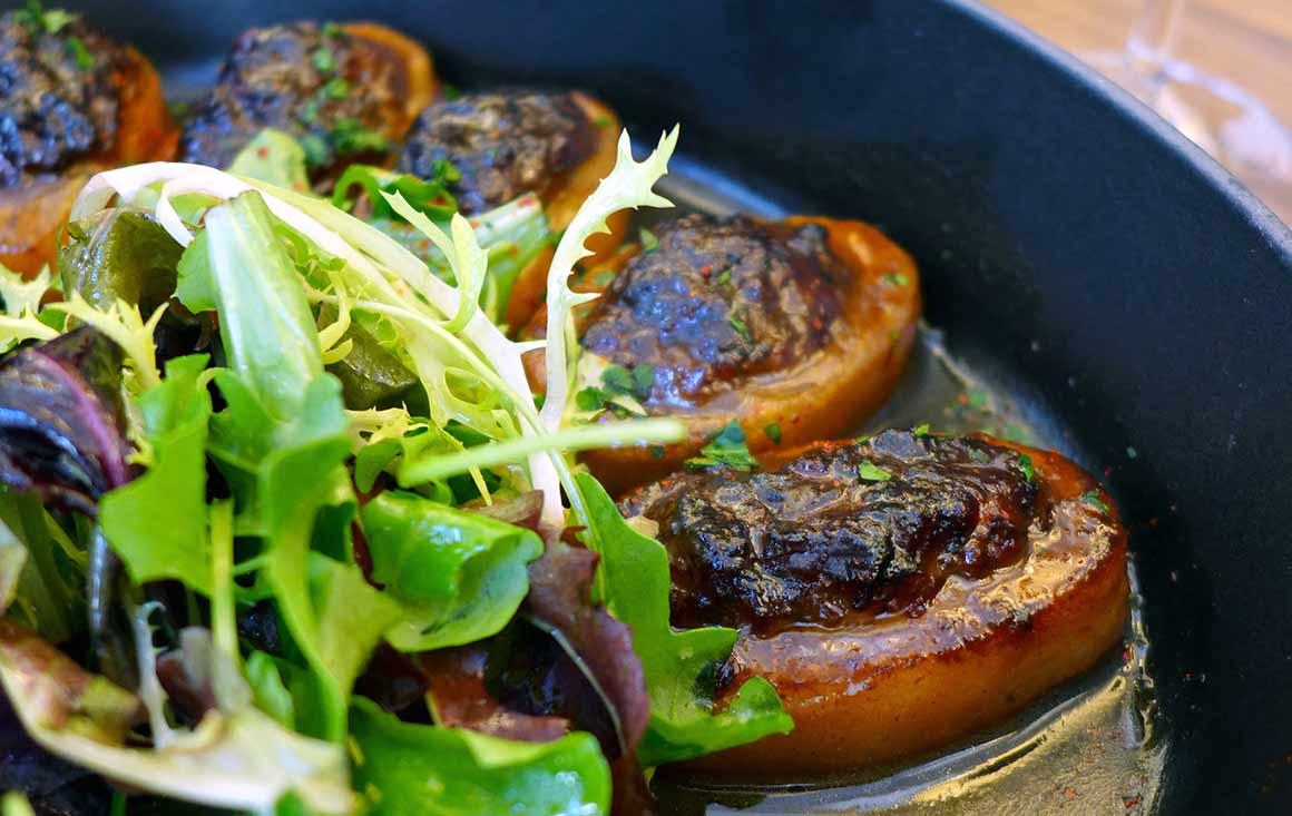 Restaurant Les Cocottes Etoile : Pommes de terre caramélisées