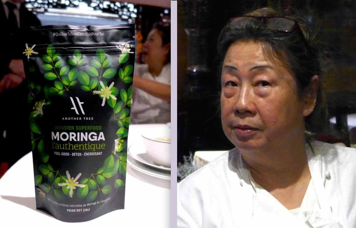 restaurant Chen infusion Moringa et Véronique Chen