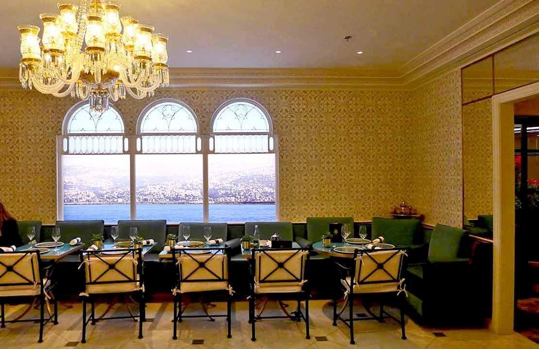 restaurant Maison Noura Printemps la salle