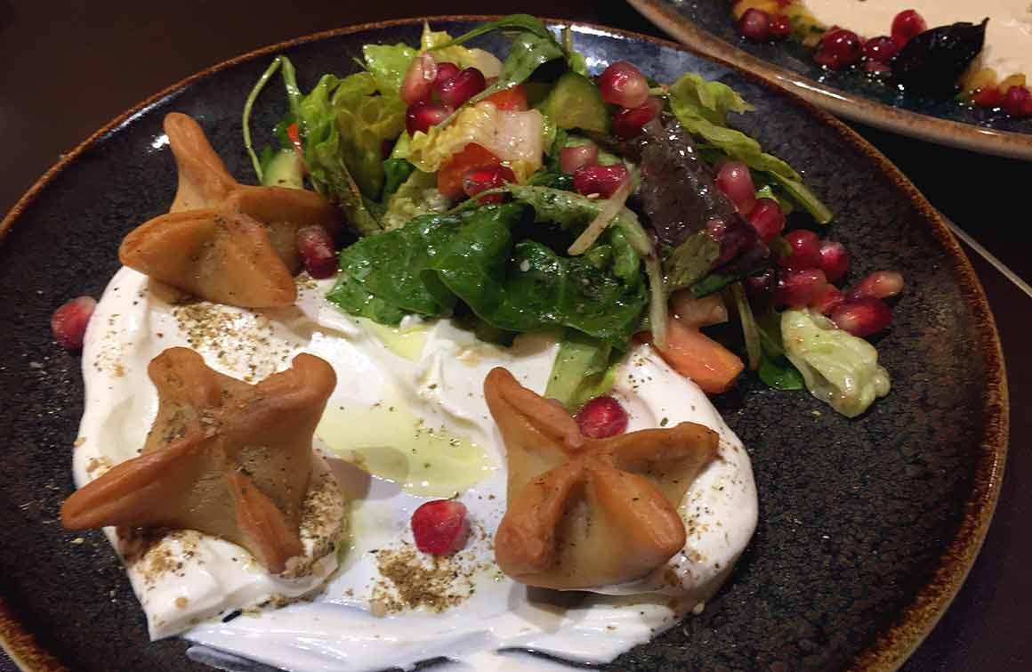 restaurant Maison Noura Printemps ravioles d'agneau