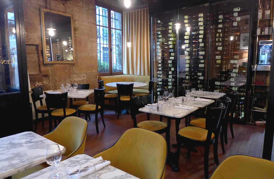 Restaurant L'Enoteca, la salle