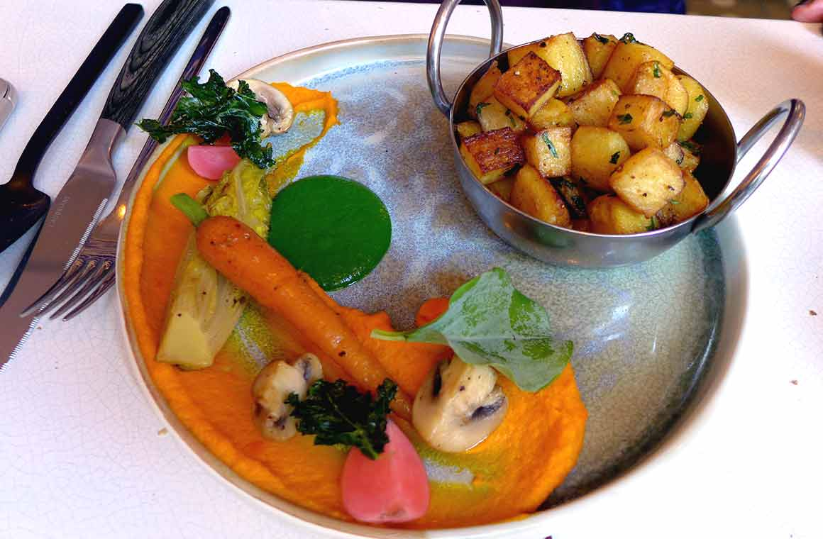 Restaurant Qasti légumes