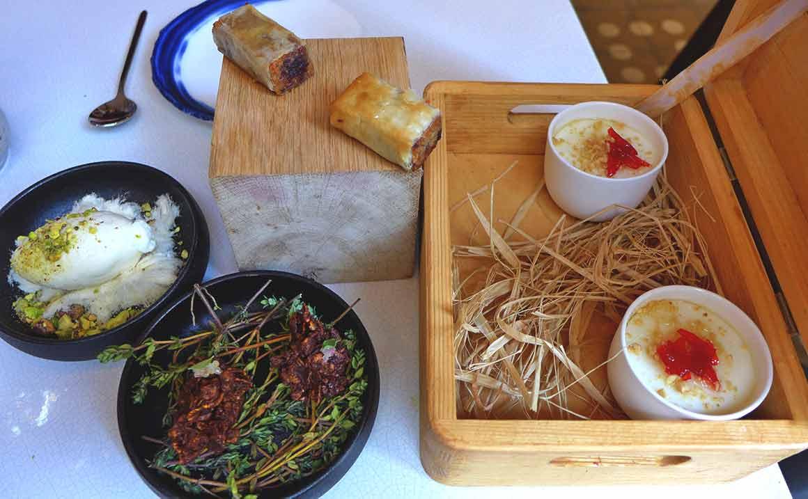 Restaurant Qasti desserts