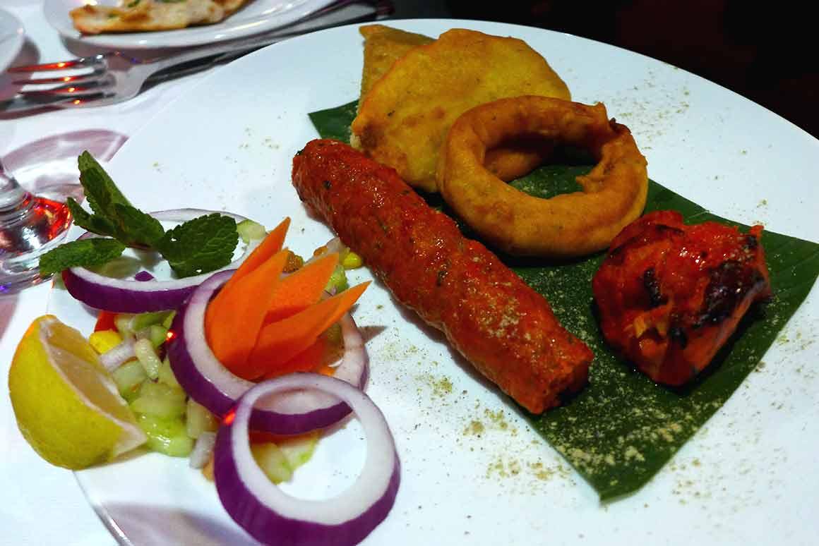 Restaurant Jaipur Café, Bouquet d'entrées
