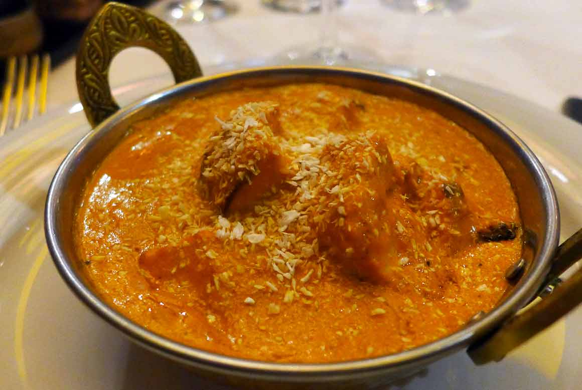 Restaurant Jodhpur Palace, Butter Chicken