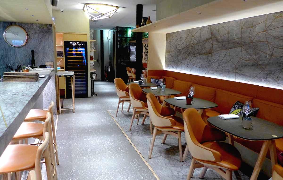 La salle du restaurant Shirvan Café Métisse