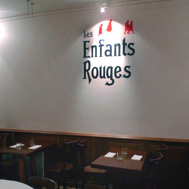Restaurant Les Enfants Rouges : La salle