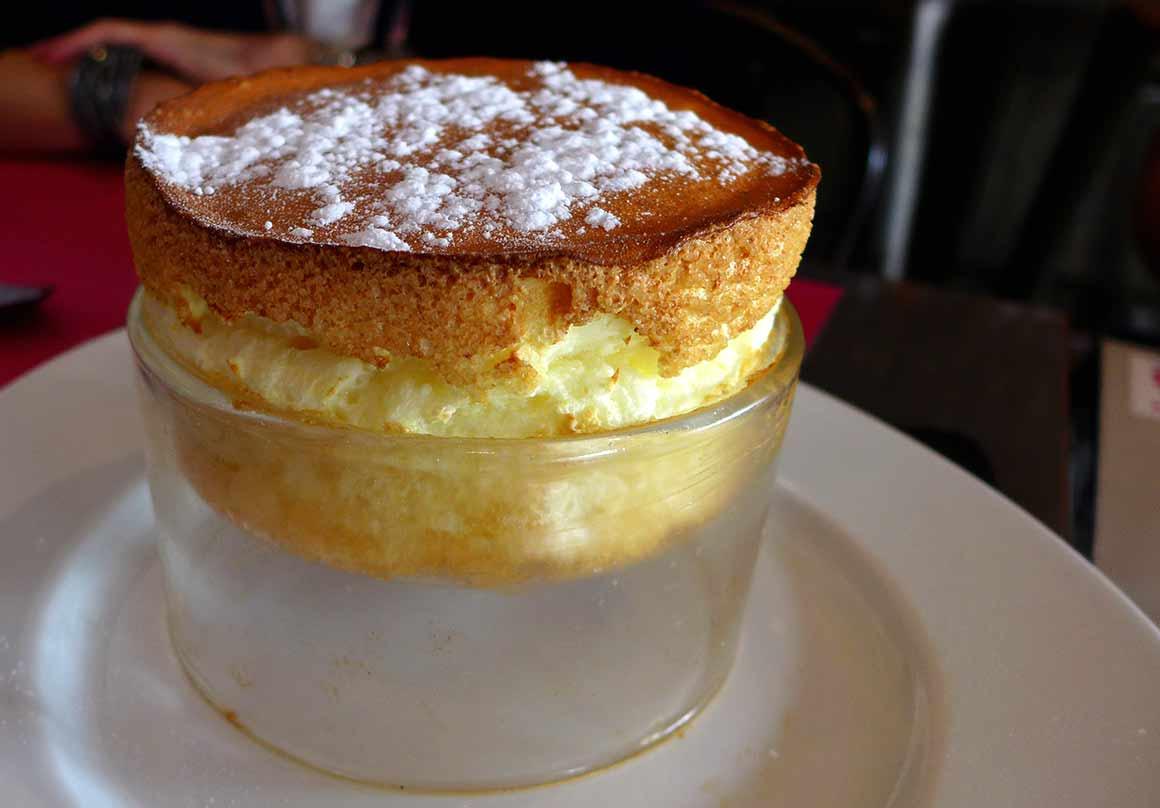 Restaurant Cook & Lab : Le soufflé au Cointreau
