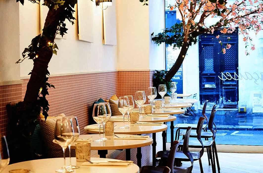 Restaurant Les Françaises : La salle