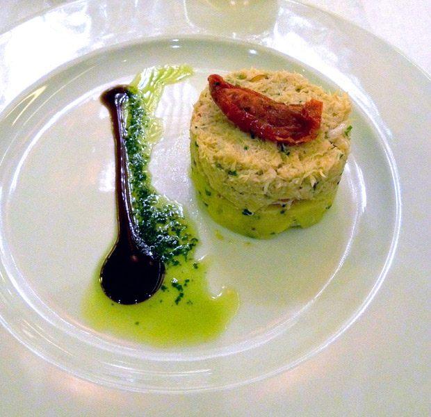 Brasserie Les Grandes Marches, le crabe