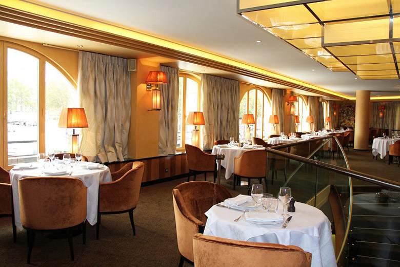 Brasserie Les Grandes Marches, la salle à l'étage