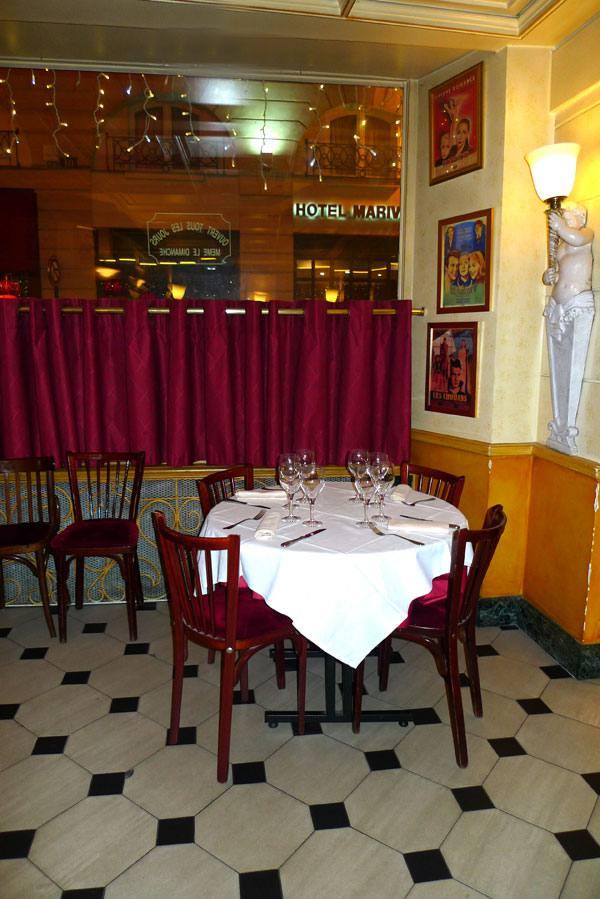 Restaurant Les Noces de Jeannette, la salle