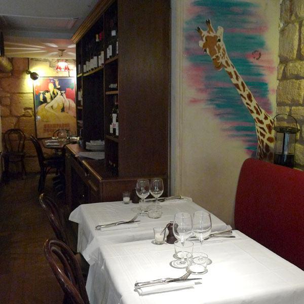 Restaurant Les Petits Plats d'Emile, street art