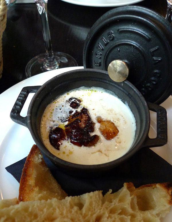 Restaurant Les Petits Plats d'Emile, oeuf cocotte foie gras