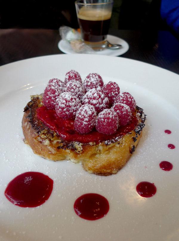 Restaurant Les Petits Plats d'Emile, brioche perdue