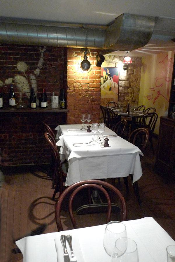 Restaurant Les Petits Plats d'Emile, la salle
