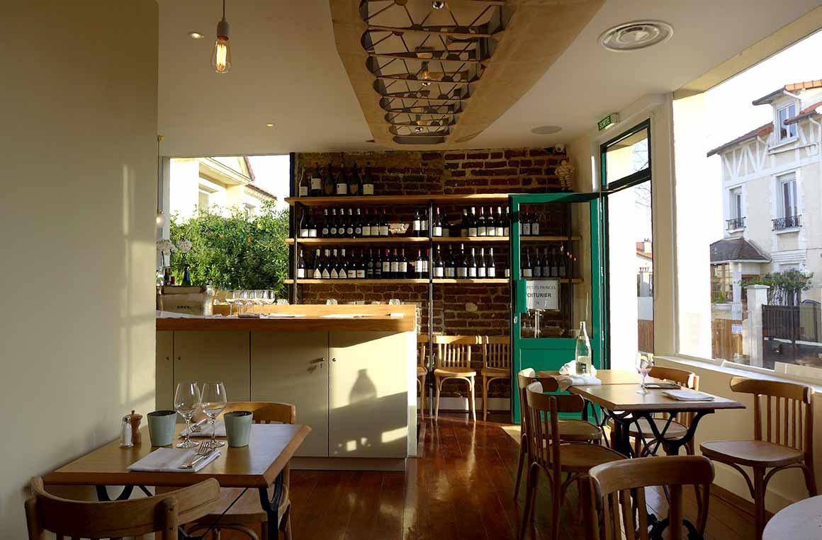 Restaurant Les Petits Princes : La salle