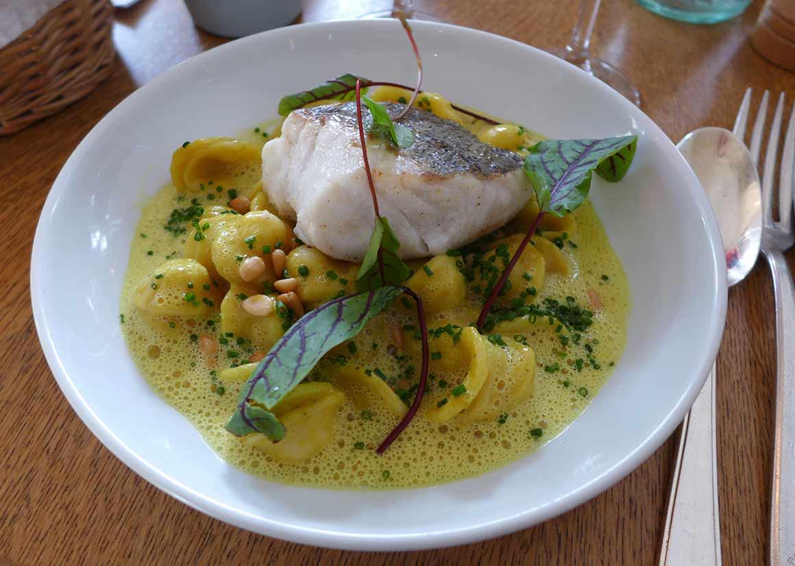 Restaurant Les Petits Princes : Pavé de merlu grillé