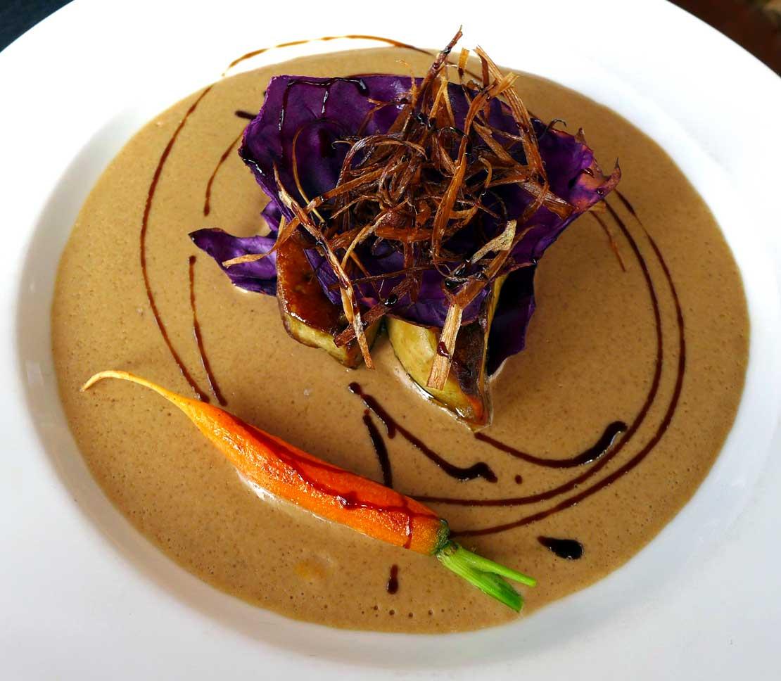Restaurant Les Pieds dans l'Eau : Pannequet de foie gras