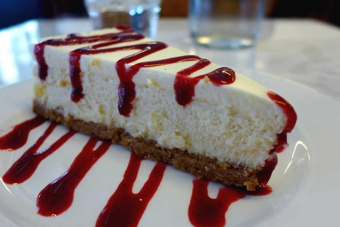Restaurant Les Pinces Saint Germain : Cheese cake