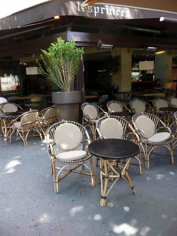 Restaurant Les Princes, La Terrasse