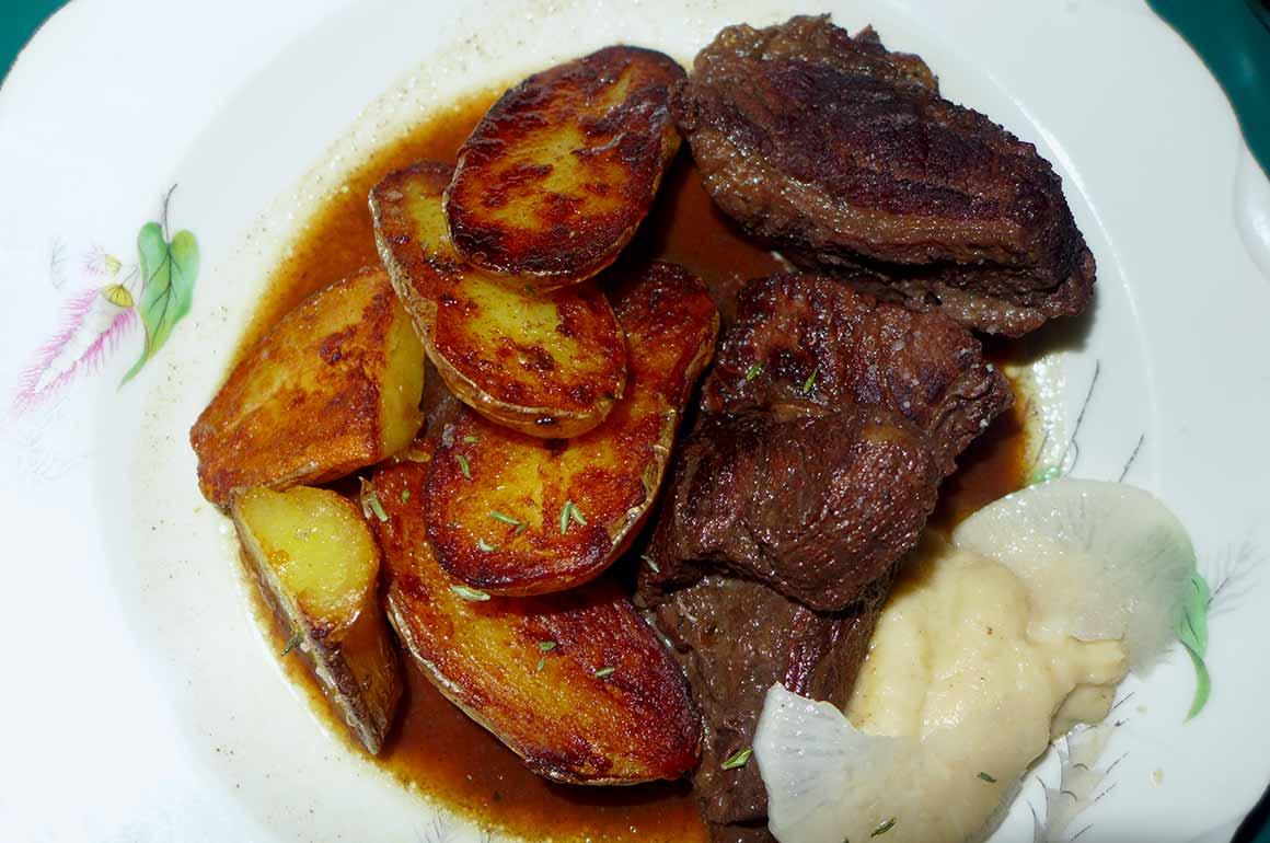 Restaurant Les Résistants, un plat