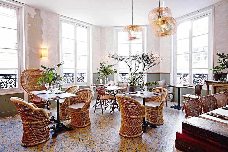 Restaurant Les Résistants, la salle
