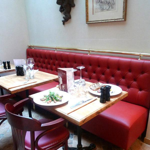 Restaurant Les Tantes Jeanne, Confort et bonne lumière dans le Salon