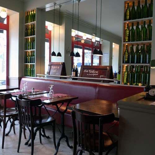 Bistrot Les Tontons 2, La salle du restaurant