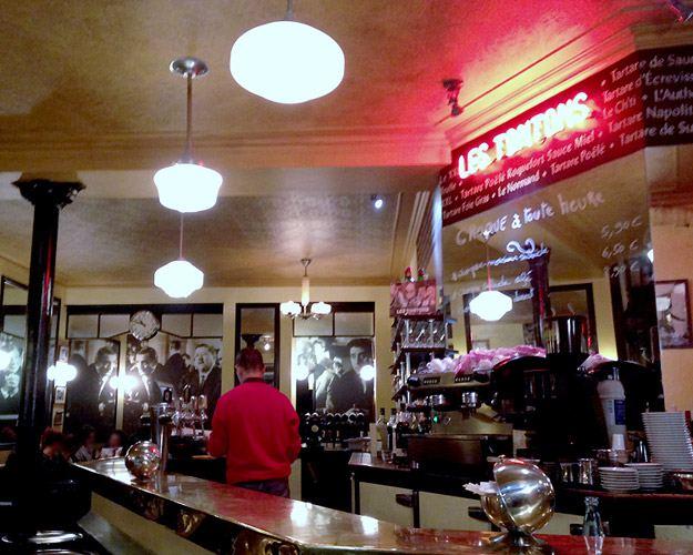 Restaurant Les Tontons Gobelins, la salle