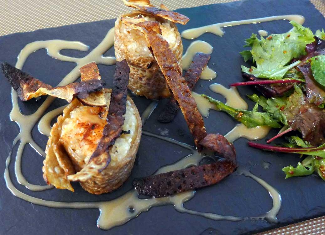 Restaurant Les Voile, maki breizh