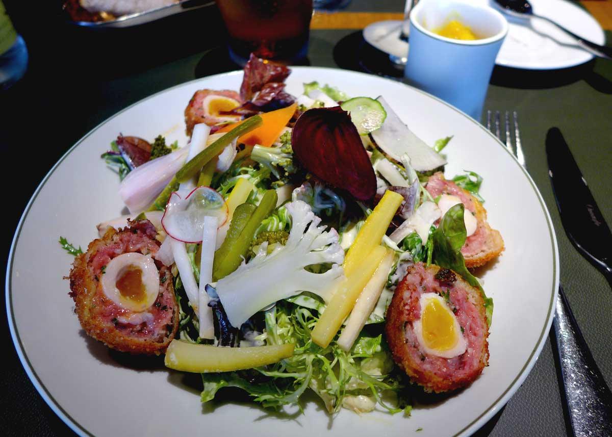 Restaurant Taillevent, Scotch Eggs