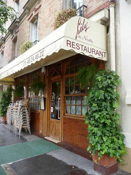 Le Restaurant Lily de Neuilly
