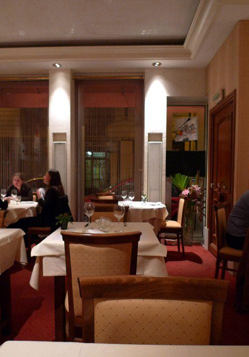 Restaurant L'Inattendu, La salle