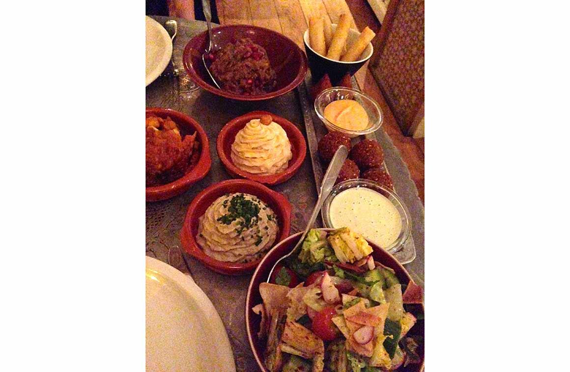 Restaurant Liza, mezzés digestes et savoureux