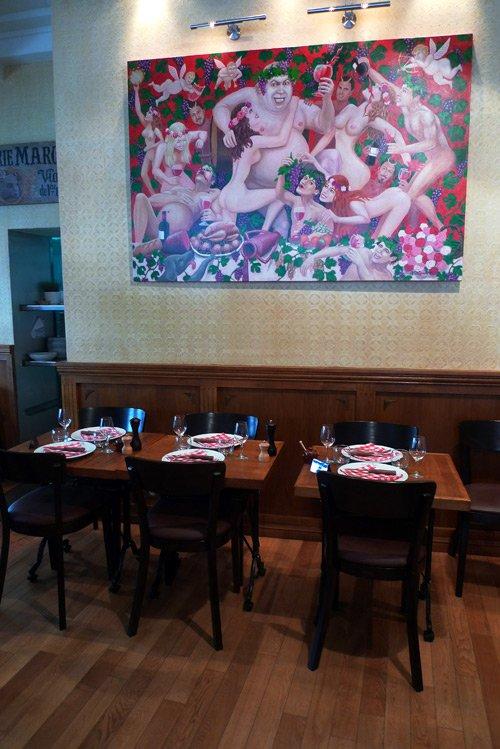 Restaurant L'Ogre, La salle