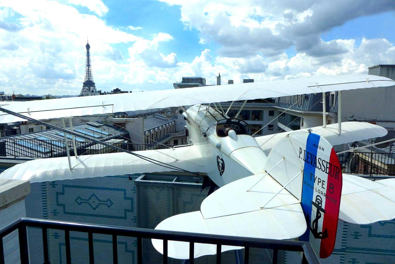 L'avion L'Oiseau Blanc